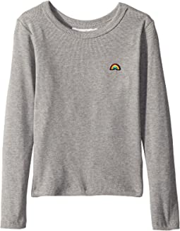 Happy and Free Long Sleeve Knit (Toddler/Little Kids/Big Kids)