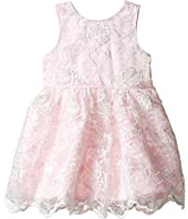 Nanette Lepore Kids - Embroidered Organza Dress (Infant)