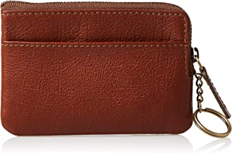 Fossil Men's Nigel Leather Zip Coin Wallet