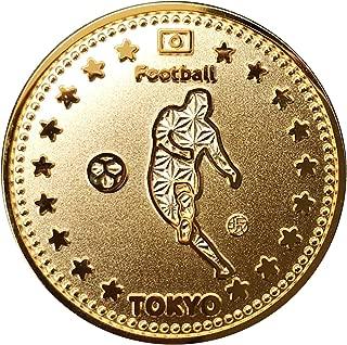 東京スポーツGOLDコイン サッカー | 記念メダル 東京2020記念