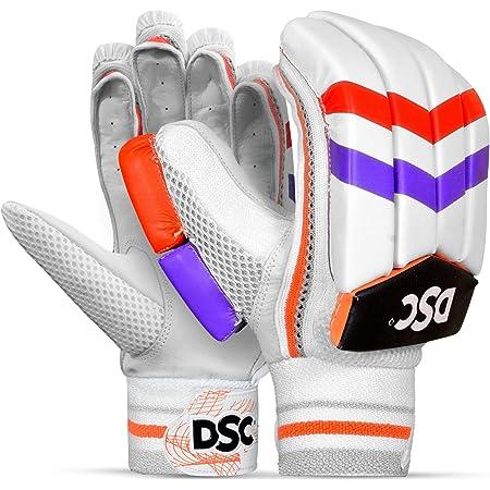 DSC Intense Attitude Leather Cricket Batting Gloves