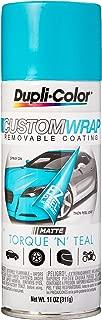 Dupli-Color ECWRC8057 Custom Wrap Matte Torque N Teal