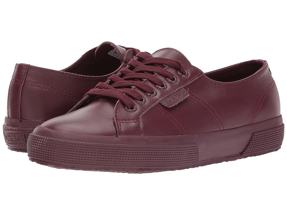 Superga 2750 FGLU Sneaker (Bordeaux) Women