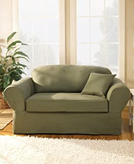 Best sure fit twill supreme sofa slipcover Reviews