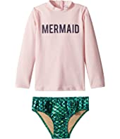 Mermaid Rashguard Set (Infant/Toddler)