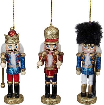 Northlight Nutcracker Ornaments, Gold