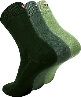 Bamboo Dress Socks, Super Soft Breathable Moisture-wicking, for Summer and Spring, Men's & Women's, Multi Performance