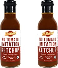 KC Natural - Carrup - Paleo AIP No Tomato Ketchup - 14 oz (2 Pack)