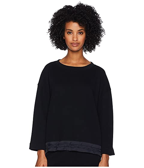 Vince Mixed Media Pullover
