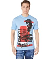 DSQUARED2 - Military Punk Stud Fit T-Shirt