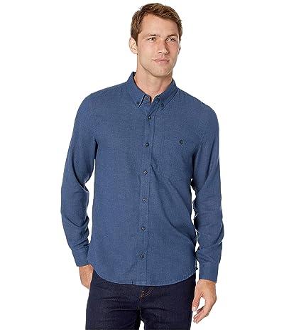Toad&Co Airsmyth Long Sleeve Shirt (True Navy) Men