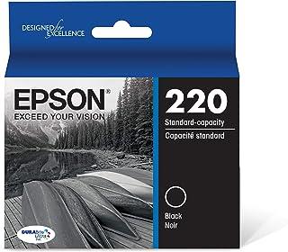 Epson T220120 DURABrite Ultra Black Standard Capacity Cartridge Ink (WF-2760, WF-2750, WF-2660, WF-2650, WF-2630, XP-424, ...