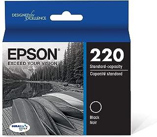 Best epson t220120 durabrite ultra black standard capacity cartridge ink Reviews