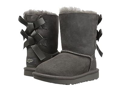 UGG Kids Bailey Bow II (Toddler/Little Kid) (Grey) Girls Shoes