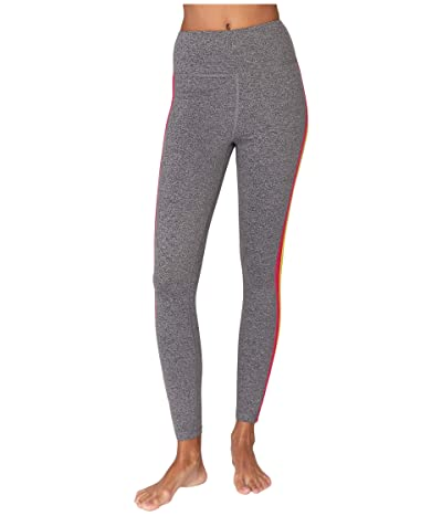 Spiritual Gangster Essential High-Waist Leggings (Medium Heather Grey 2) Women