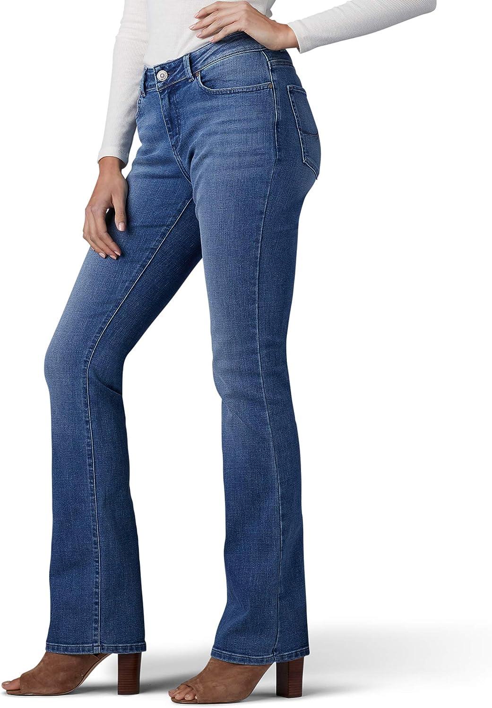 Lee Uniforms - Jean cintré pour femme - Coupe cintrée avec poche cachée Cascade