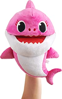 WowWee Pinkfong Baby Shark Official Song Puppet with Tempo Control - Mommy Shark - Interactive Preschool Plush Toy