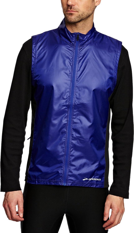 Brooks Men's LSD Lite Vest, color  Ultramarine Black, Size  L