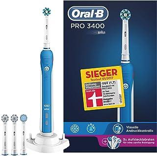 Braun Oral-B 4210201220954Pro 3400Cross Action–Cepillo de dientes eléctrico