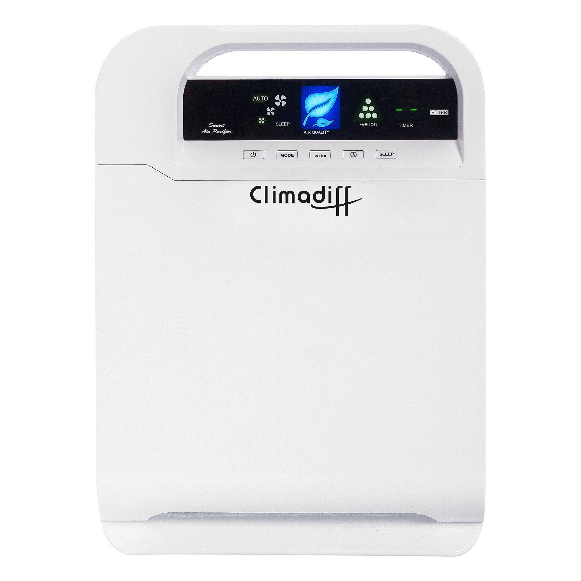 Purificador de aire AIRPUR10 de Climadiff - Elimina el polen, el ...