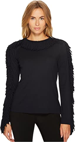Sonia Rykiel - Plain Jersey Long Sleeve Top