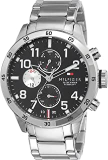 85cc3a046 Tommy Hilfiger Analog Black Dial Men's Watch - NATH1791141