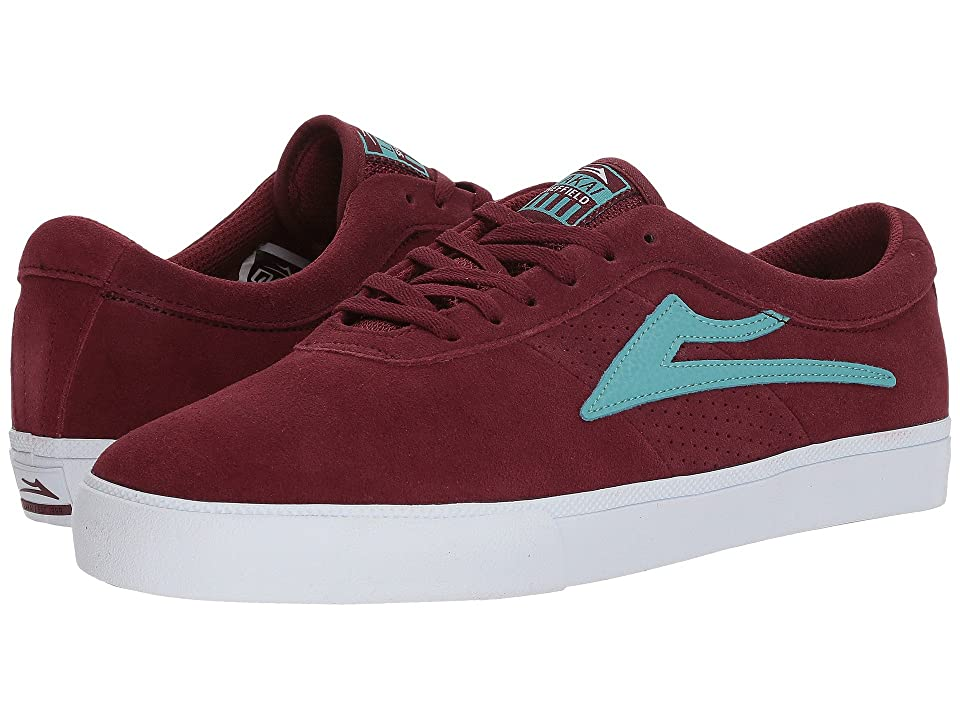 Lakai Sheffield (Burgundy Suede) Men