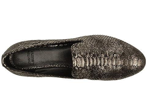 LeatherGraphite Murphy Snake Kid Print Glove Italian Suede Johnston Metallic Black Sierra amp; XOw61qSF