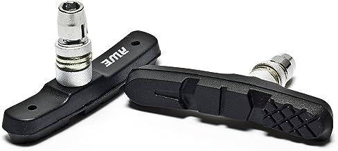 AWE® Las zapatas de freno Triple contorno una pieza negra 72mm