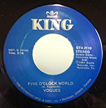 The Vogues 5 O'clock World / You're The One 45 rpm single