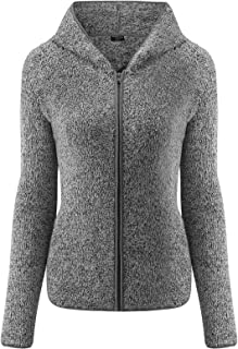 SEVEGO Women's Sherpa Fleece Jacket Faux Fur Fuzzy Coat with Pockets Hooded Shaggy Cardigan Coat Outwear