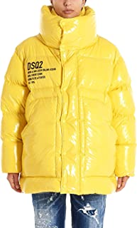 DSQUARED2 Luxury Fashion Womens S72AA0389S52326172 Yellow Down Jacket | Fall Winter 19