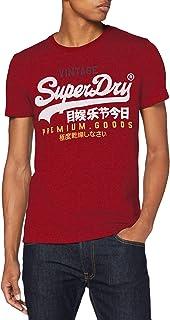 Superdry Men's Vl Tri Tee T-Shirt