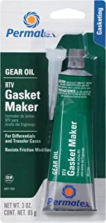 Permatex 81182 Gear Oil RTV Gasket Maker, 3 oz.