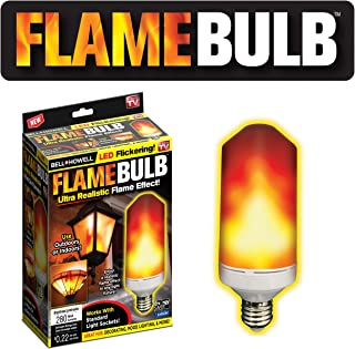 Bell + Howell Flame Bulb Realistic Flame-Effect Flickering LED Light Bulb As Seen on TV