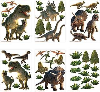Walltastic Kit de décoration pour Chambre avec Paysage de Dinosaures