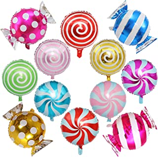 candyland balloon decor