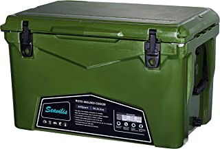 Seavilis Cooler (Milee)-Heavy Duty & roto Molded Ice Chest with Free Accessories.