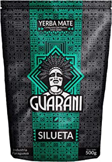 Yerba Mate Guarani Silueta 500g | Guarani Silueta | Yerba Mate de Paraguay | Alta calidad | Yerba mate fuertemente estimulante | Yerba Mate con boldo, cáscara de naranja y limón |