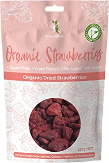 Dr Superfoods Dried Organic Strawberries, 1 Count