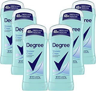 دئودورانت ضد عرق برای محافظت از خشکی زنان ، تمیز کردن دوش ، 2.6 اونس (بسته 6)