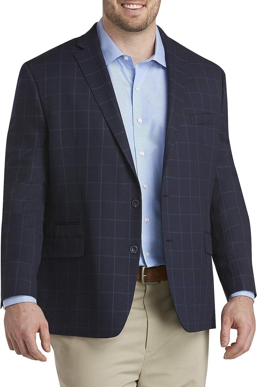 Michael Kors Windowpane Sport Coat, Navy