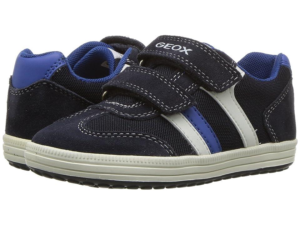 Geox Kids Vita 31 (Toddler/Little Kid) (Navy/White) Boy