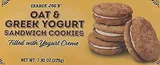 Trader Joe's Oat & Greek Yogurt Sandwich Cookies