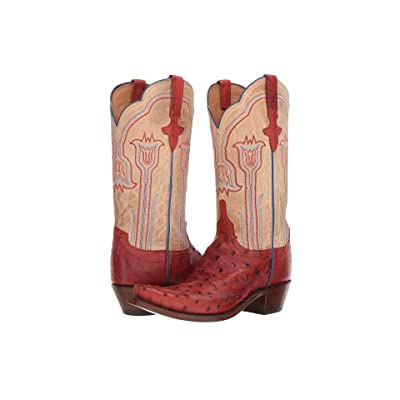 Lucchese Maeve (Brick Red/Pearl Bone) Cowboy Boots