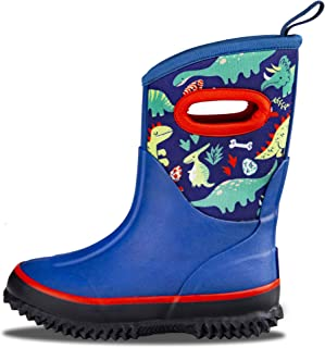 LONECONE Kids' All-Weather Neoprene Mud Boots - Rain, Muck, Snow