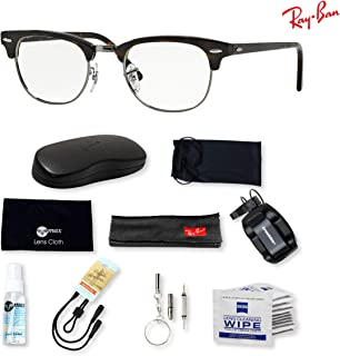 b2812ddec80 Ray-Ban RX5154 Clubmaster Eyeglasses for Men and Women with Deluxe  Accessories