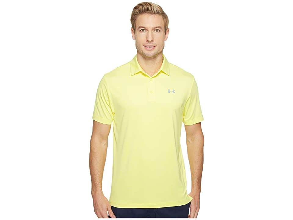 Under Armour Golf UA Playoff Polo (Tokyo Lemon/Tokyo Lemon/Steel) Men