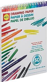 ALEX Toys Artist Studio Drawing Paper – 50 Sheets