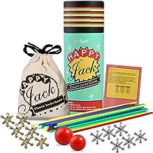 Colorful Jack /& Ball Game Set of 2 Matatena mexicana paquete de 2.